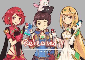 Xenoblade Chronicles 2 - Released! by Shadow2810