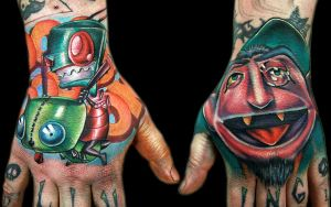 ZIM and the COUNT hand pieces by tat2istcecil