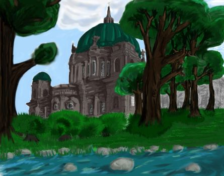 You Know? That Castle by the Stream by NeonLunafish