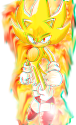 Super Sonic 3D by Axel-Letterman