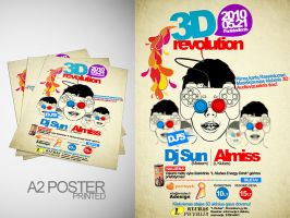 Flyer 3D revolution 2 by Armidas