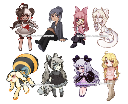 [T]  Chibis - Sheepily by flyfloyd3