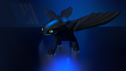 Night Fury - Alpha by V3DT