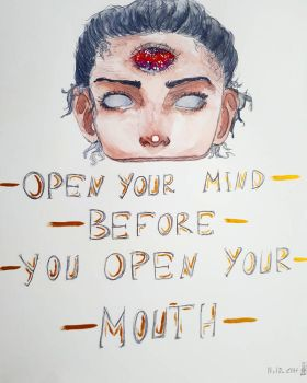 Open Your Mind by DecentWeirdo