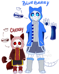 Cherry n Blueberry [cross over] by UniverseCipher