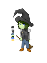 Chibi Witch Adopt (AUCTION OPEN) by petewentztheemogod