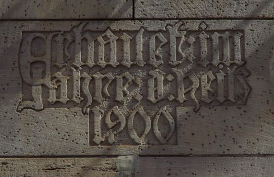old lettering by Pippa-pppx