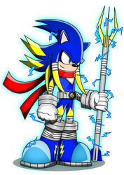 Sonic Boom : Jolt The Hedgehog by Arung98