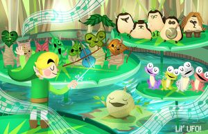 Wind Waker: Forest Friends!! by LilUFO