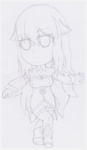 [Sketch] Chibi Cless by Blizzard-White