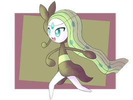 Meloetta by FairyJonke