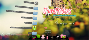 iPure Folder for Rainmeter by MarNelyDesigns