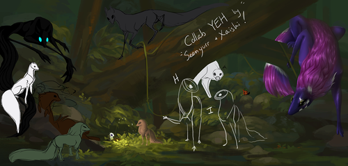 Your Esk Here - Forest! [Closed] by Xaishi