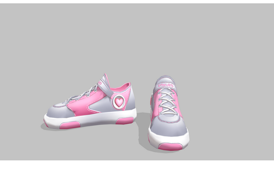MMD Heart Shoes by amiamy111