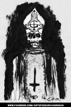 GHOST - PAPA EMERITUS by CZR31