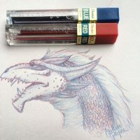 Dragon Sketch by Hailinator