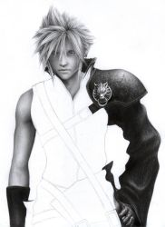 Cloud Strife WIP 3 by D17rulez