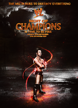 Night of Champions- Fire version by fraH2014