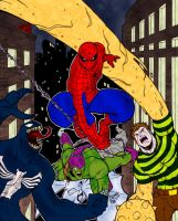 Spidey And Villains by pascal-verhoef