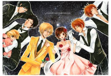 Ouran Host Club Starry Night by Eternal-S