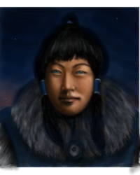 A Realistic Korra Sketch by charcoalfeather