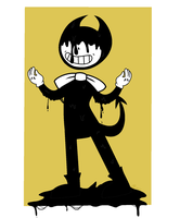 Bendy and the ink machine! by rawrkitty98