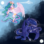 [C] Two sisters by FellAbyss