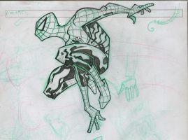 Spiderman pencils by spundman