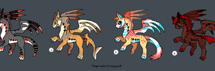 Dragoumplex adoptables (sold) by onigiryStuff