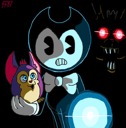 Bendy in- Tattletail by FanartFazbear87