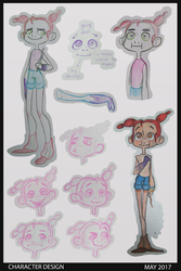 Character design: Kid by THE-UNIVERSE-IS-OVER