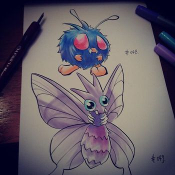 pkmns of the day- Not Butterfree by ExShen