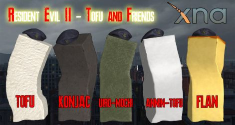 Resident Evil 2 Remake - TOFU'S FRIENDS [XPS] by 972oTeV