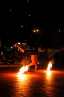 Handstand With Fire by SpAzZnaticShuRIken