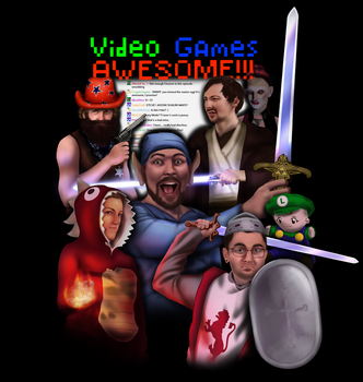 Video Games Awesome by diana-scribbles