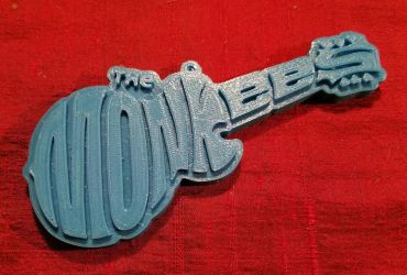 Monkees ornament 3D print prototype by sequential