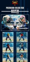 Street Fighter V - Nash Premium Color by Ztitus by Ztitus