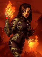 Witchblade commis. 40 color by Xenomrph