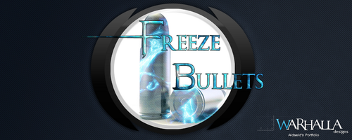 Freeze Bullets Logo by Aldaeld