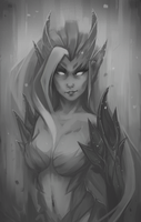 League of Legends: Zyra by Kytru