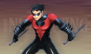 DC Reboot Nightwing by marcotte