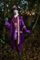 Purple and Gold Frock Coat and Waistcoat by paul-rosenkavalier