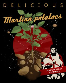 The Martian: Potatoes by Spiritius