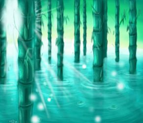 let bamboo graw quiet by suiko-xx