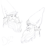 Gnomes by thelunarmoon