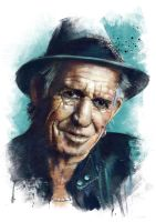 Keith Richards by IgnacioRC