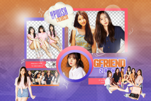 GFRIEND PNG PACK #2/PARALLEL by Upwishcolorssx