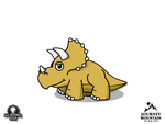 Lil' Triceratops by jeffmcdowalldesign
