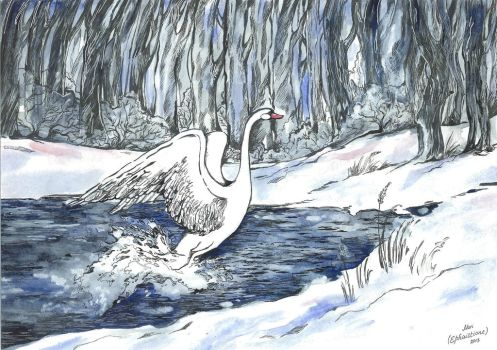 Swan song by Ephaistien