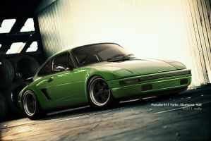 Porsche 911 Turbo 'Slantnose' 930 by wallla